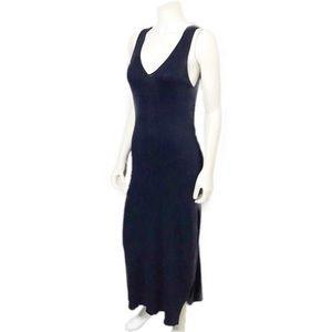 Lauren Ralph Lauren | Blue Linen Knit Maxi Dress
